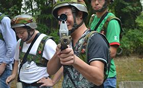 上海富美家2013年真人CS大战