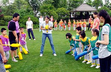 儿童软式棍球比赛